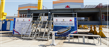 "KEEL OF THE THIRD AFRAMAX TYPE TANKER WAS LAID AT ""ZVEZDA"" SHIPBUILDING COMPLEX FOR ROSNEFTEFLOT"